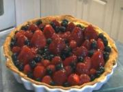 "How to Make a ""French Fruit Tart"""
