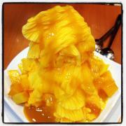 Mango And Orange Snow