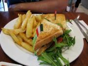Seafood Club Sandwiches