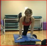13 Minutes Back, Biceps and Glutes with Anita Stone