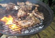 Jerk Chicken in Caribbean Style