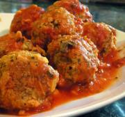Meatballs in sauce - san fransisco menu item