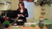 Organic Arugula Fava Bean Crostini Recipe