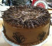 Chocolate Birthday Cake - Delicious Birthday Lunch Ideas
