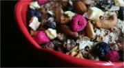 Coconut Granola with Dried Fruits and Nuts