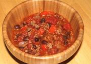 Savory Beans With Ground Beef