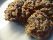 Carob Or Carob Raisin Chip Cookies