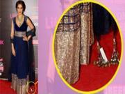 Bipasha Basu's Shocking Wardrobe Malfunction at Life OK Screen Awards 2014
