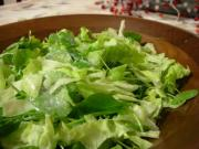 CLEANING AND PREPARATION OF SALAD