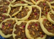 Pomegranate Beef Cheese Pies