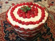 Betty's Pineapple Raspberry Trifle