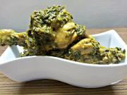 Spinach Chicken (Palak Chicken)