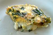 Baked Spinach Omelette
