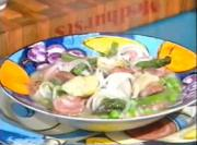 Hearty Meat Soup with Spring Veggies