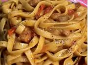 Stir Fried Fettuccini