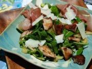 Arugola Mushroom Salad