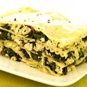 Quick And Easy Spinach Pesto Lasagna