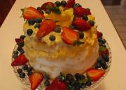 Luscious Dole Pineapple Easter Cake