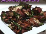 Barbequed Stuffed Jalapeno Poppers