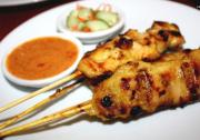 Chicken Satay Singapore Style