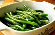 Green Beans With Hot Vinaigrette