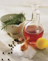 Basic ingredients for preparing a marinade