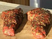 Garlic & Rosemary Infused Tri Tip Roast Beef