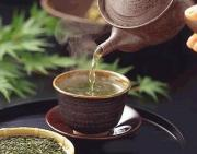 Sencha tea acts as a breath freshner