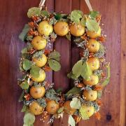 Whole orange wreath