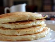 Swiss Cheese Pancakes