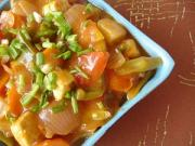 Sweet and Sour Vegetables Side
