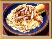 Chicken Carbonara Deluxe