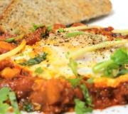 Huevos Rancheros with Indian Twist