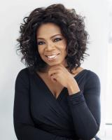 Oprah Winfrey - woman with a golden heart