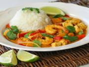 Shrimp Tofu Coconut Curry