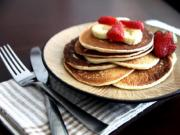Sour Cream & Cottage Cheese Pancakes