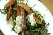 French Goats Cheese Camembert and Roasted Sweet Potato Salad