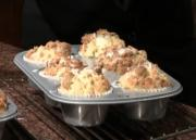 Zucchini Muffin with Streusel Topping
