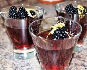 The bright and gorgeous blackberry martini.