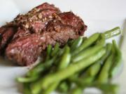 Brown Butter Hanger Steaks | Paleo