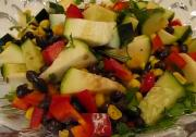 Black Bean Salad for Holiday Treat
