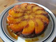 Peach Upside Down Cake and Celebration Cake