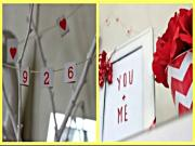Room decor DIY   Easy and Affordable Valentines Ideas