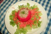 Crab Salad In Tomato Basket
