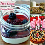 5 Easy Memorial Day Dessert Ideas