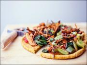 Gluten-Free Vegan Sweet Potato Pizza Crust