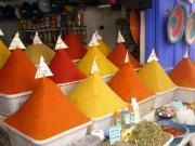Spices of Morocco - flavor of middle east