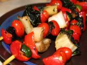 Tempeh Veggie Kabobs
