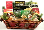 Wisconsin cheese gift basket