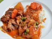 Beef Mechado (Beef Stew in Tomatoes)